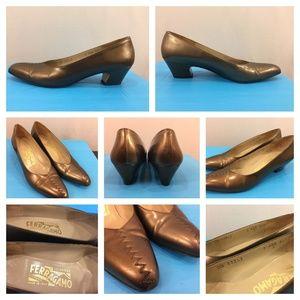 Salvatore Ferragamo Women's 7AAA Narrow Heels